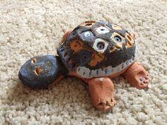 Schildkröte aus Ton (Ferdinand ca. Ferdinand, Turtle, Animals, Inventions, Crafts, Creative, Crafting, Turtles, Animales