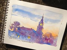 DON GETZ 'WATERCOLOR JOURNAL TOUR' OF THE USA: Making My Way Through Florida