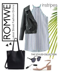 """""""ROMWE Collection"""" by barelyforeignview ❤ liked on Polyvore featuring WithChic, ootd, romwe, contestentry and PVStyleInsiderContest"""