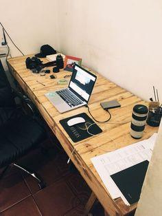 office desk europalets endsdiy. Ideas For Turning Old Pallets Into Home Office And Dorm Room Desks! | DECOR: Pinterest Pallets, Euro Pallet Wood Desk Europalets Endsdiy
