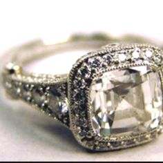 Vintage Tiffany's engagement ring