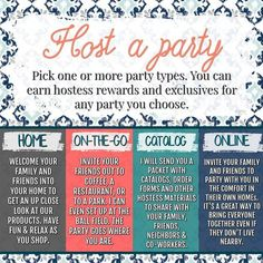 There are so many ways you can host a Thirty-One party these days! There really is no wrong way but if you want a fast, fun, and easy experience, here are the reasons you should party with me. Thirty One Hostess, Thirty One Party, Thirty One Gifts, 31 Gifts, Arbonne Party, Thirty One Facebook, Norwex Party, Initials Inc, Pampered Chef Party