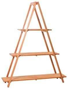 Estante Escada | Estantes | Móveis MUMA (dois pequenos, tipo cavalete)
