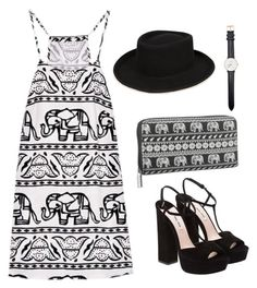 """""""Untitled #2"""" by ajla-p ❤ liked on Polyvore featuring Miu Miu, maurices and Daniel Wellington"""