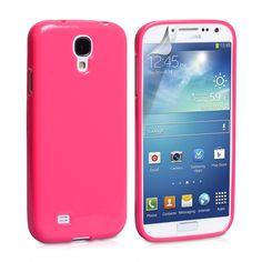 With a sleek, sumptuous exterior for maximum style, our vivid pink gel case is ideal for drawing attention to the body of your S4! But don't be fooled by its fashion-forward veneer; despite its rubbery, flexible surface, our TPU gel case still ensures excellent protection from damage. It easily deflects concerns like scuffs and dents, enabling your Galaxy SIV to continue in peak condition for longer!