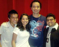 Victor H. Alves, Djair Junior e Diênifer Lacerda