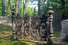 Cemetery Fence ~ by Louis E. Page, Inc., via Flickr