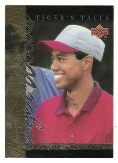 Tiger Woods # TT-9 - 2001 Upper Deck Golf Tiger's Tales