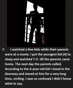 17 Creepy Things Kids Say Heard by Their Babysitters