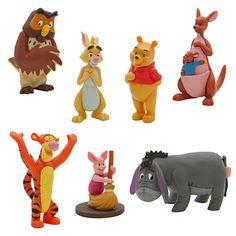 Winnie the Pooh Figure Play Set   Figure Sets   Disney Store