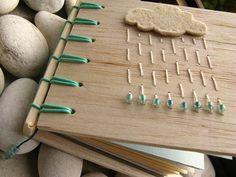 rain. secret belgian binding balsa notebook by askida, via Flickr