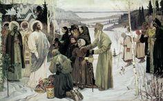 Sacred Russia by M.V. Nesterov