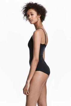 Lightly-shaping Bodysuit - Black - Ladies | H&M CA