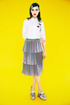 Mary Katrantzou Pre-Fall 2017 Fashion Show Collection Fashion 2017, Fashion Photo, Runway Fashion, Fashion News, High Fashion, Mary Katrantzou, Vogue Mexico, Vogue Russia, Fashion Show Collection