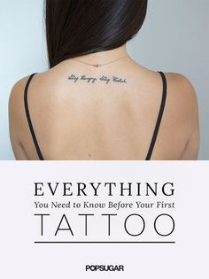 The Ultimate Checklist For Tattoo Virgins