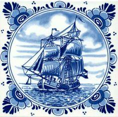delfsblauwe tegels delfts blauw tegel zeilschip delfts blauw tegels