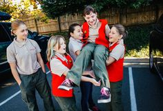 "From left, Allie Westover, Daphne Mortenson, Taylor Alcozer, Ella Jacobs and Skyler Westover played in a parking lot before a Boy Scouts meeting in Santa Rosa, Calif., on Nov. 13. (Allie is 13; the other four girls are 10.) <a href=""http://www.nytimes.com/2015/11/23/us/girls-in-california-are-latest-to-seek-to-become-boy-scouts.html"">Related Article</a><br /><br />"