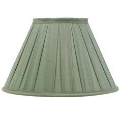 Empire Box Pleat Silk Lampshade, 56cm