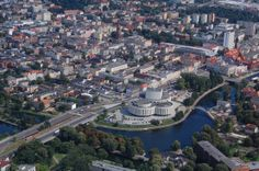 Interesting Facts About Poland: Opera Nova and north part of Bydgoszcz city centre