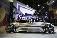 Mercedes-Benz AMG Vision Gran Turismo concept vehicle