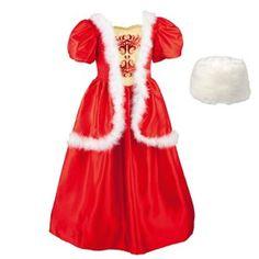 Verkleedkledij Russische Prinses 3 - 5 jaar 39,99 euro