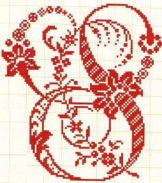 Filomena Crochet e Outros Lavores: Abecedário com Arabescos