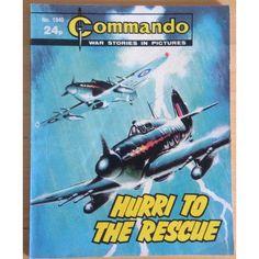 Commando Comic Picture Library #1940 War Action Adventure £2