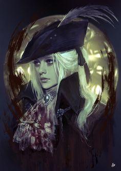 ArtStation - Lady Maria of the Astral Clocktower - Bloodborne, Raquel Cornejo