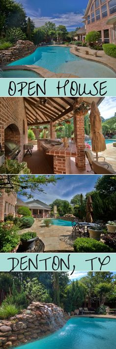 You\'re invited to our open house this Sunday May 28th, 2017 from 1-4PM! Address: 100 Bentwood Ct, Denton, TX 76210   5 Beds, 5.5 Baths, Pool & Spa, Guest House, RV/Boat Parking, Custom Study, Outdoor Kitchen, 3 Fireplaces and more!   #openhouse #dallas #texas #fortworth #dentontx #realtor #realestate #listings #selling #buying #home