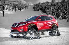 Nissan Rogue Warrior Snow Track Crossover