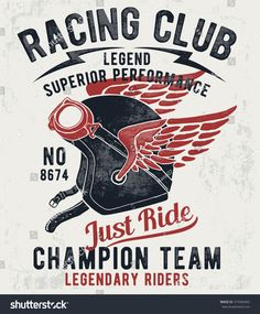 Ideas For Retro Bike Helmet Vintage Motorcycles Motorcycle Quotes, Motorcycle Helmets, Motorcycle Racers, T Shirt Moto, Bike Poster, Vintage Motorcycles, Logo Design, Artwork, Cafe Racers