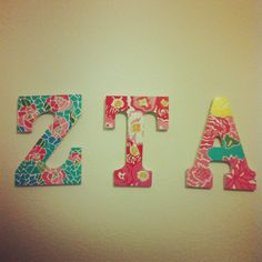 cute letters   #ZTA #ZetaTauAlpha