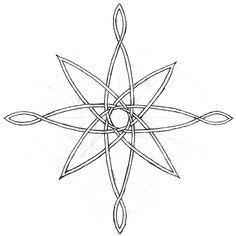 compass rose sketch by midnightlynx.deviantart.com