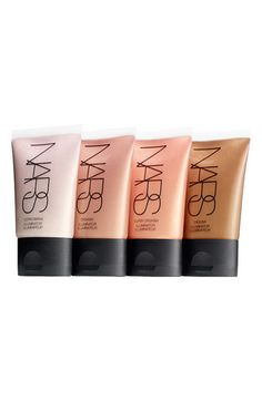 NARS Illuminators. Copacabana, Laguna, Orgasm and Super Orgasm. The best highlighters out there