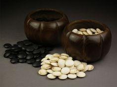 Honinbo Shuwa Go Bowls and Go Stones