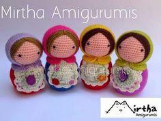 Amigurumi Russian Doll Pattern : Amigurumi charlene gift n craft matryoshka amigurumi