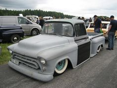 Chevrolet 1957 pickup truck by Drontfarmaren, via Flickr