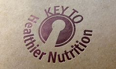 Logo design for new business Key to Healthier Nutrition, after exploring a number of options the chosen concept … READ Nutrition Tracker App, Healthy Nutrition, Lululemon Logo, Logo Design, Branding, Logos, Creative, Key, Calculator