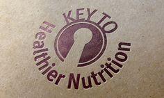 Logo Design - Key to Healthier Nutrition - Creative Surge