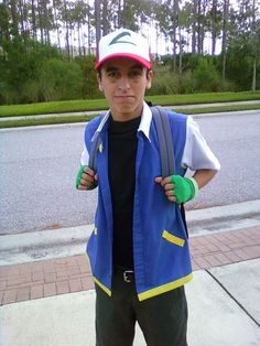 How to make an Ash Ketchum costume