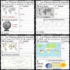 La France dans le monde : traces écrites de Géographie - MA MAITRESSE DE CM1-CM2
