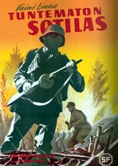 The Unknown Soldier (Tuntematon Sotilas)  by Väinö Linna - see my review at http://www.alternativefinland.com/the-unknown-soldier-tuntematon-sotilas-by-vaino-linna/