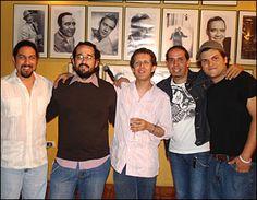 Con CJ, Hector, El Hueso, Raulo Ra Ra.