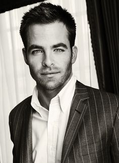 Chris Pine. Loved him since Princess Diaries 2