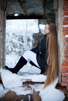 i love very long hair