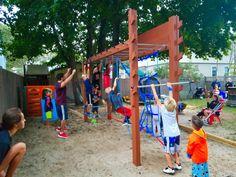 America Ninja Warrior, Ninja Warrior Course, Backyard Gym, Site Design, Little People, Father, Training, Play, Sport