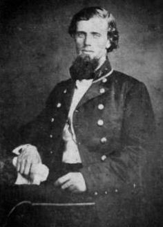 James Edwards Rains (April 10, 1833 – December 31, 1862) was a lawyer and colonel in the Confederate States Army during the American Civil War. He was appointed and nominated as a brigadier general on November 4, 1862, but his appointment was unconfirmed at the date of his death. He was killed while leading his brigade at the Battle of Stones River (Murfreesboro) on December 31, 1862 before the Confederate States Senate acted on his nomination. Rains was born in Nashville, Tennessee