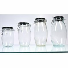 Global Amici Firenze Canisters (Set of 4)