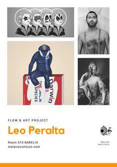 """Leo Peralta es nuestro genial artista malagueño del que estamos orgullosos en Malaca Instituto, por el regalo que nos hizo con su habitación """"Babelia"""" para que nuestros estudiantes puedan dormir en una obra de arte y porque nos encanta su obra. Por si te apetece, te dejamos el enlace a su Instagram, vas a flipar. Leo, Flow Arts, Still Working, Art Projects, Instagram, Design, Students, Artworks, Gift"""