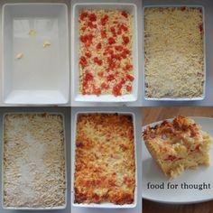 """Σουφλέ μακαρόνια από το blog """"Pepi's Kitchen"""" http://pepiskitchen.blogspot.gr/2014/05/soufle-makaronia.html"""